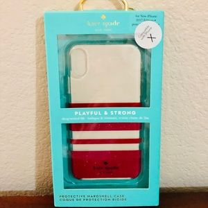 Kate Spade-IPhone X Case BRAND NEW